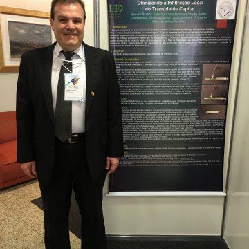 Novo aparelho para infiltrar anestésico. Congresso Brasileiro ABCRC 2016